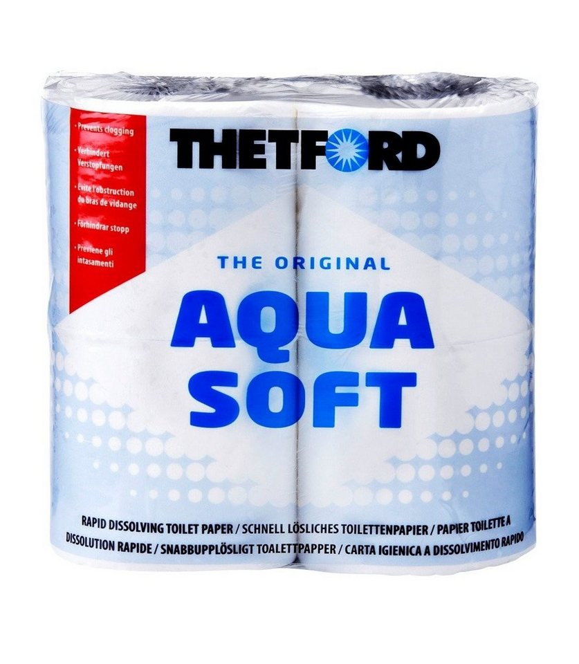 Klopapier »Aqua Soft« in weiß