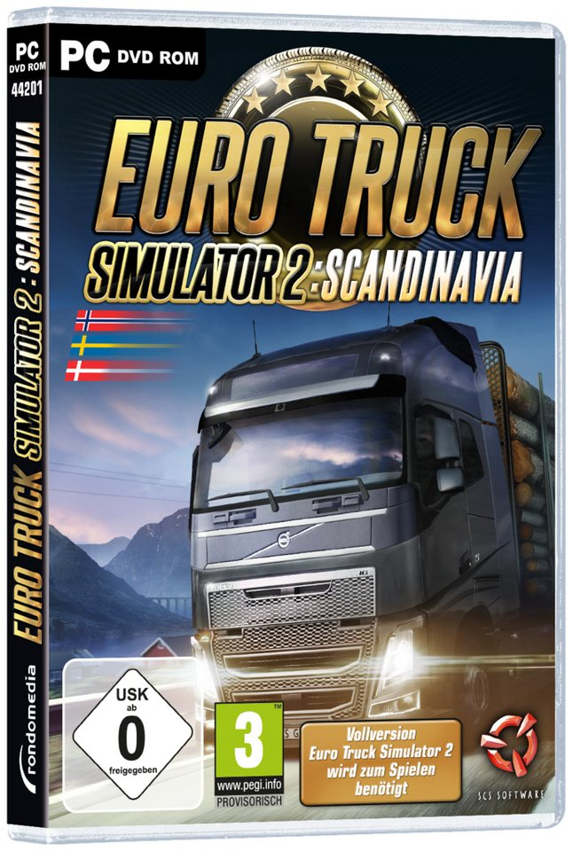 rondomedia Euro Truck Simulator 2: Scandinavia (Add-On) »(PC)«