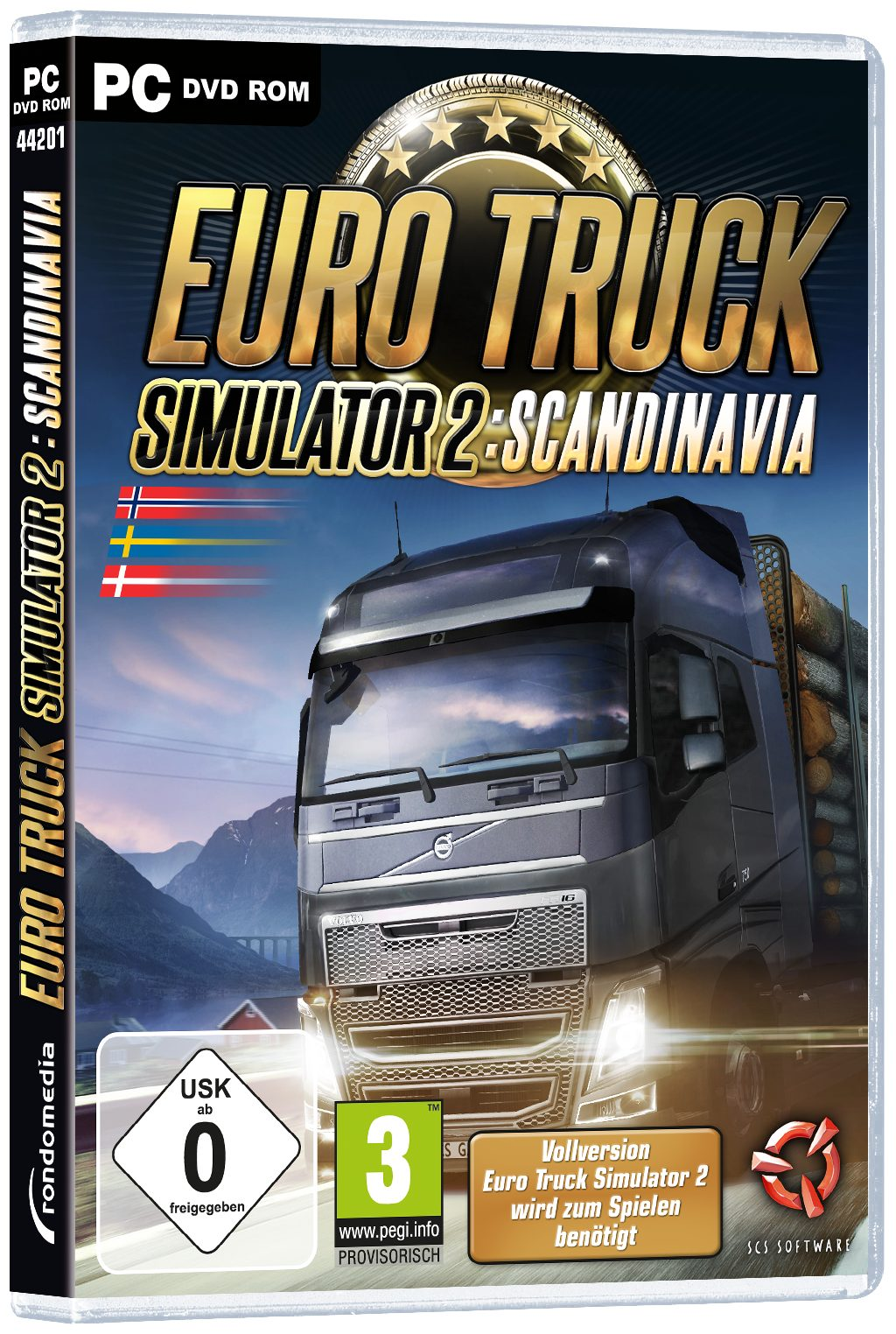 rondomedia Euro Truck Simulator 2: Scandinavia (Add-On) »PC«
