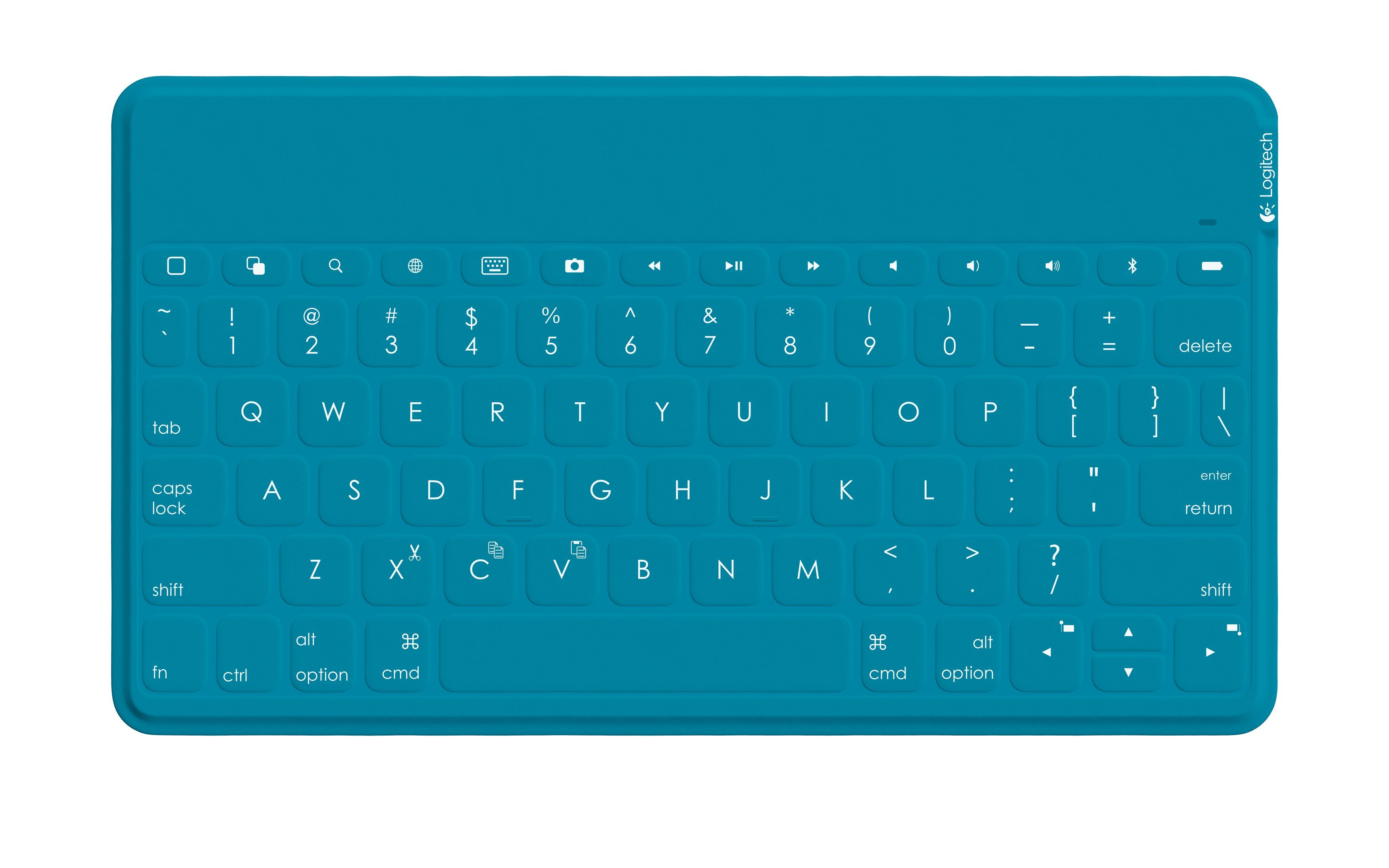 Logitech Android Zubehör »Keys-To-Go Ultra-Portable Keyboard - 920-007197«