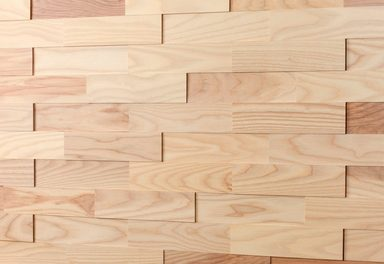 WODEWA Set: Verkleidungspaneel »Wodewa 200 - Esche«, 3D-Effekt, 1 m²