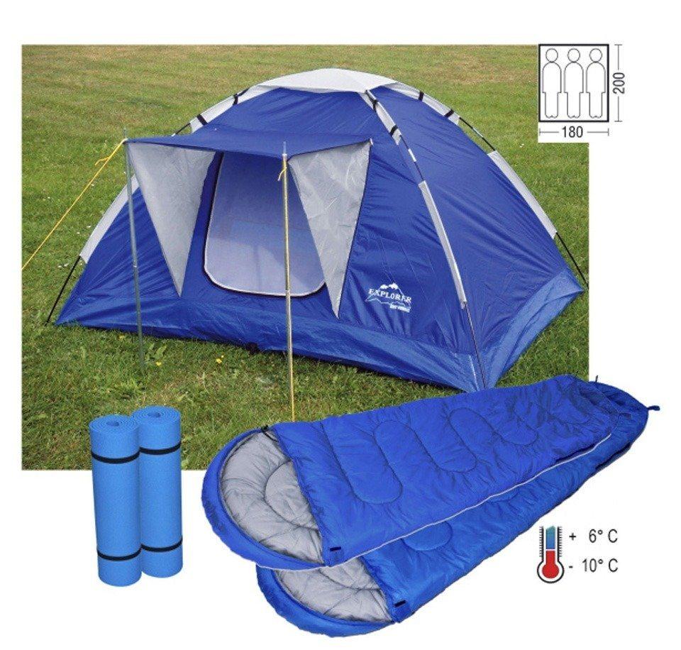 Zelt Für Roadtrip : Set iglu zelt für bis zu personen inkl schlafsäcken