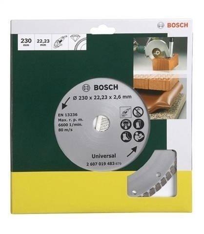 Diamanttrennscheibe »Turbo, von Bosch Ø 230 mm« in grün