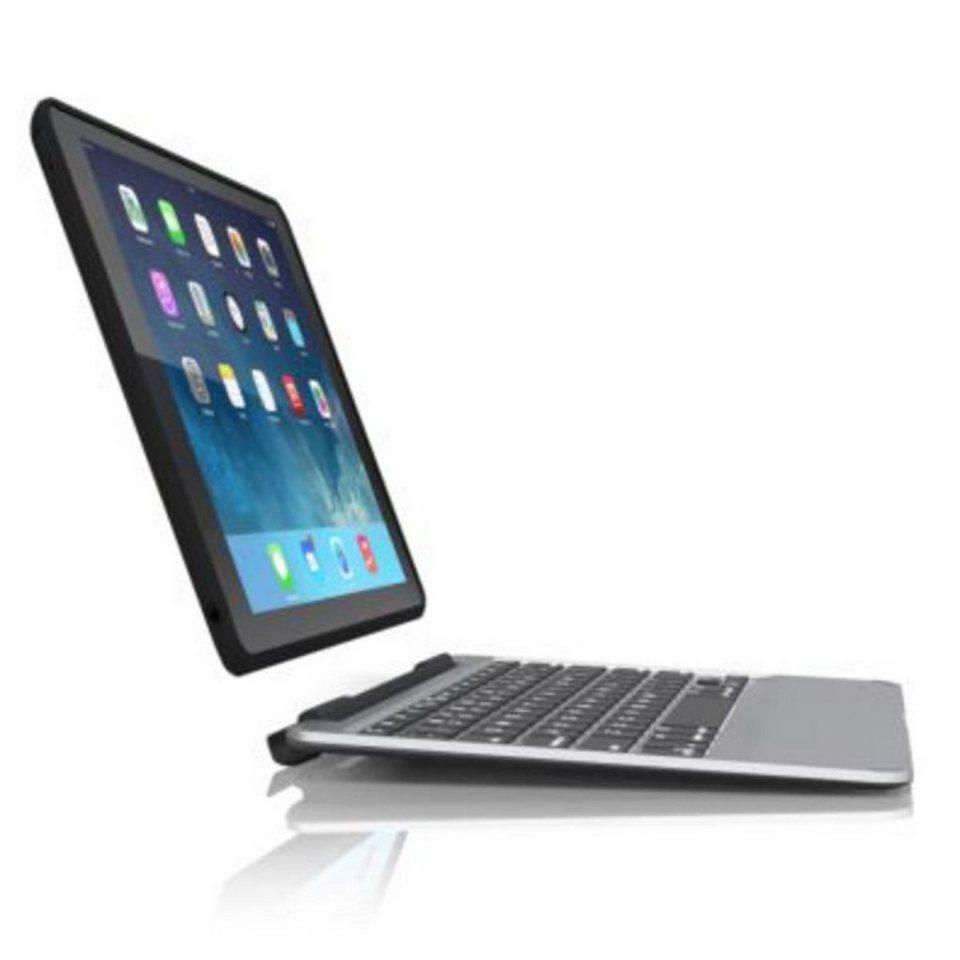 ZAGG Tablettasche »Slim Book Case Keyboard für Apple iPad Air« in Schwarz