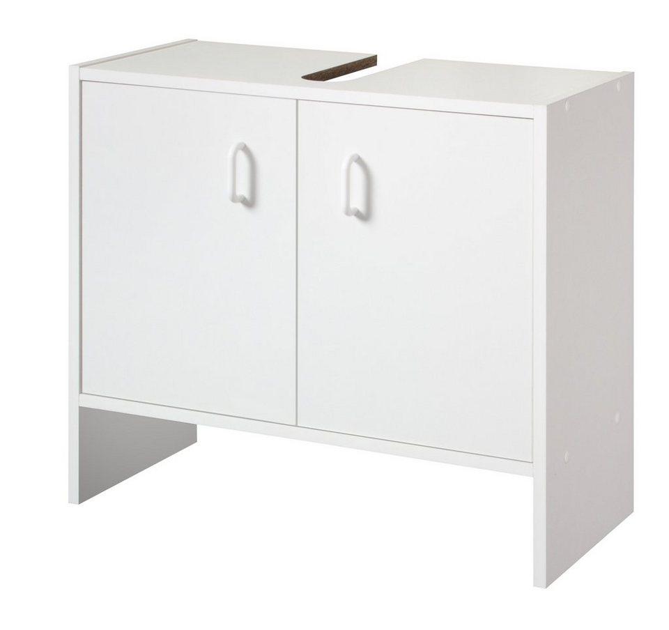 Waschbeckenunterschrank »Basic«, Breite 60 cm in weiß