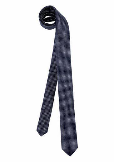 Bruno Banani Krawatte, mit modischer Minimaloptik