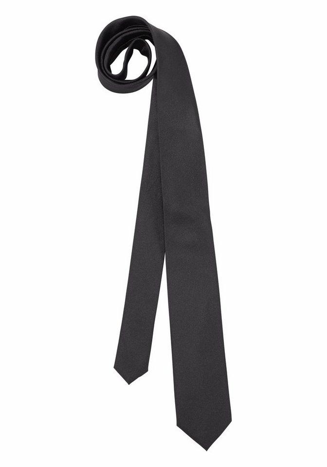 Bruno Banani Krawatte in schwarz