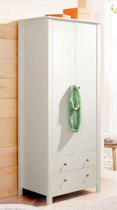 Garderobenschrank kaufen » Flur- & Dielenschrank | OTTO | {Spiegelschrank holz antik 94}