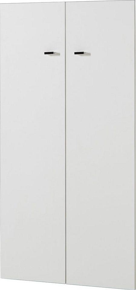 Türen für Regal Höhe 142 cm »Montreal« in weiß