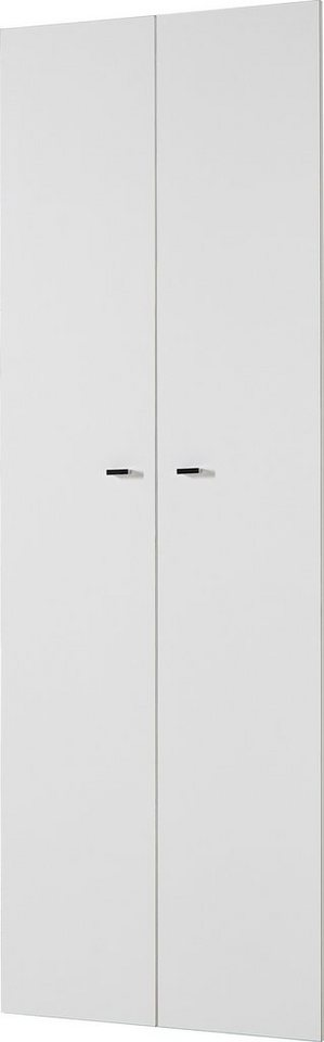 Türen für Regal Höhe 211 cm »Montreal« in weiß