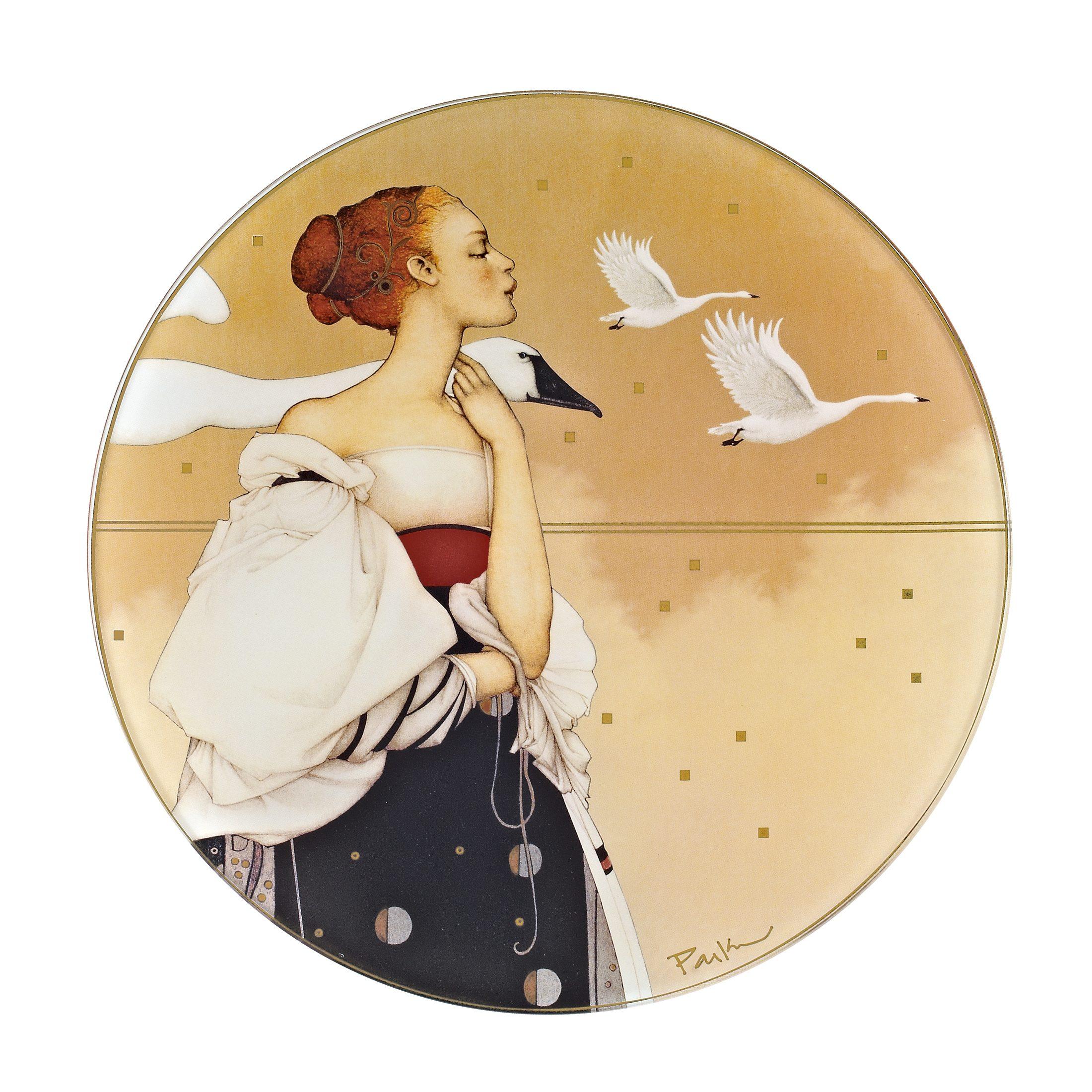 Goebel Pale Swan Schale »Artis Orbis«