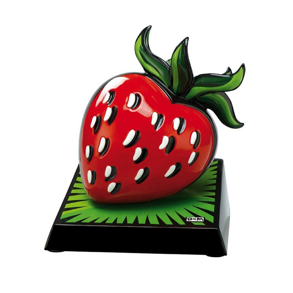 Goebel Strawberry Skulptur »Artis Orbis« in Bunt