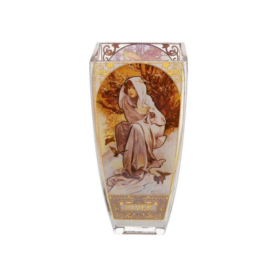 Goebel Die Vier Jahreszeiten 1897 Vase »Artis Orbis« in Bunt