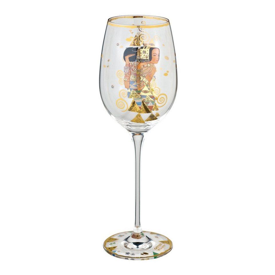 Goebel Die Erwartung Weinglas »Artis Orbis« in Bunt