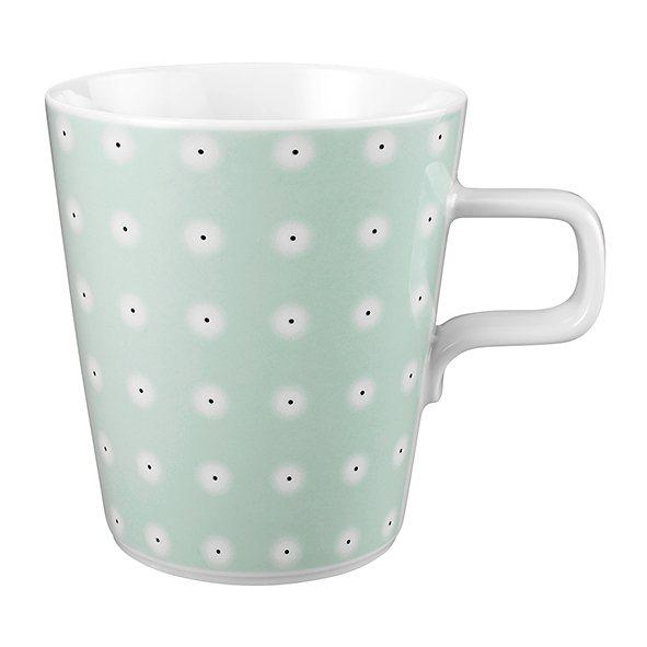 Seltmann Weiden Milchkaffeetasse »No Limits Favorite« in Weiß, Mintgrün