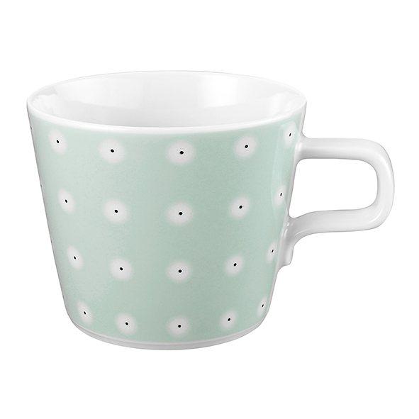 Seltmann Weiden Cappuccino-Teetasse »No Limits Favorite« in Weiß, Mintgrün