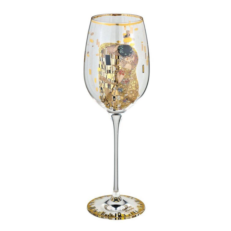 Goebel Der Kuss Weinglas »Artis Orbis« in Bunt