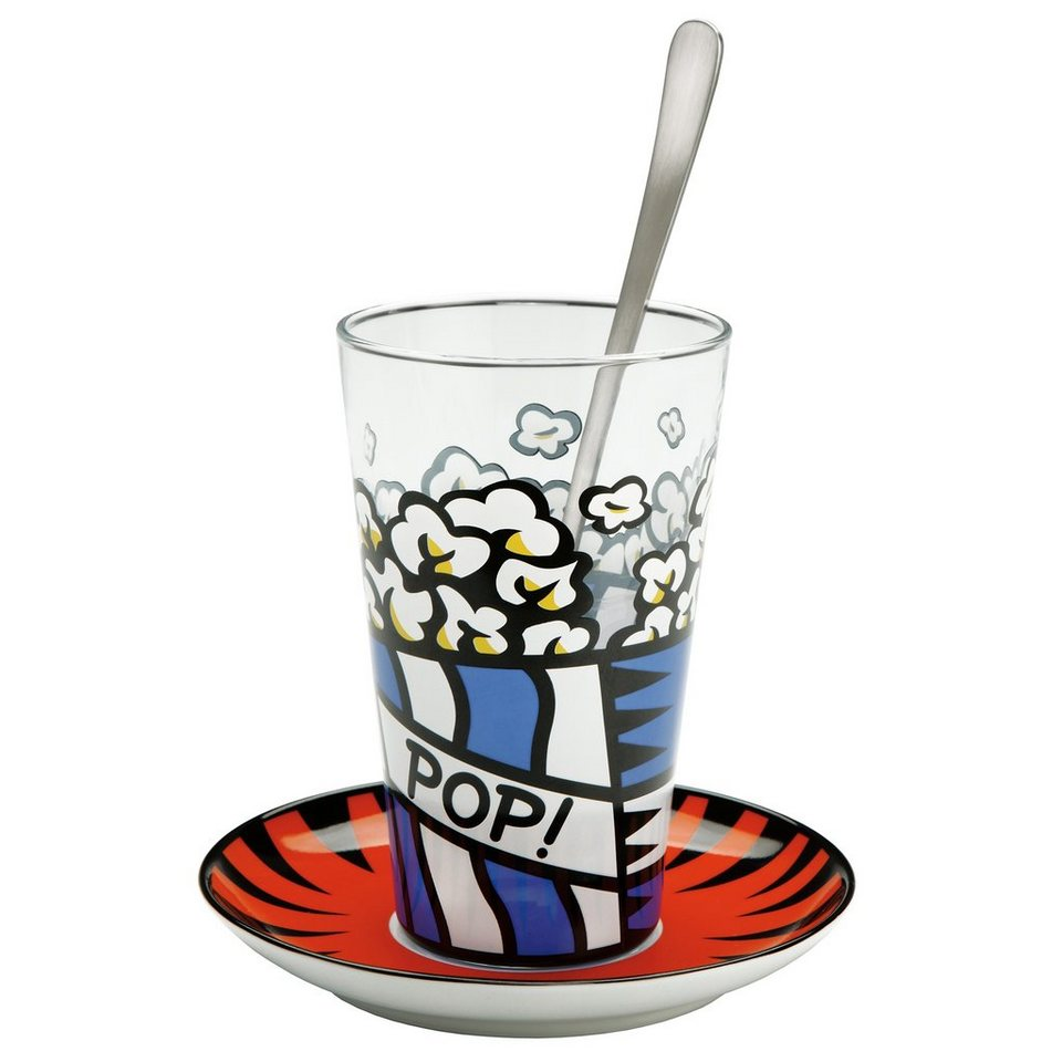 Goebel Pop! Latte Macchiato Glas »Artis Orbis« in Bunt