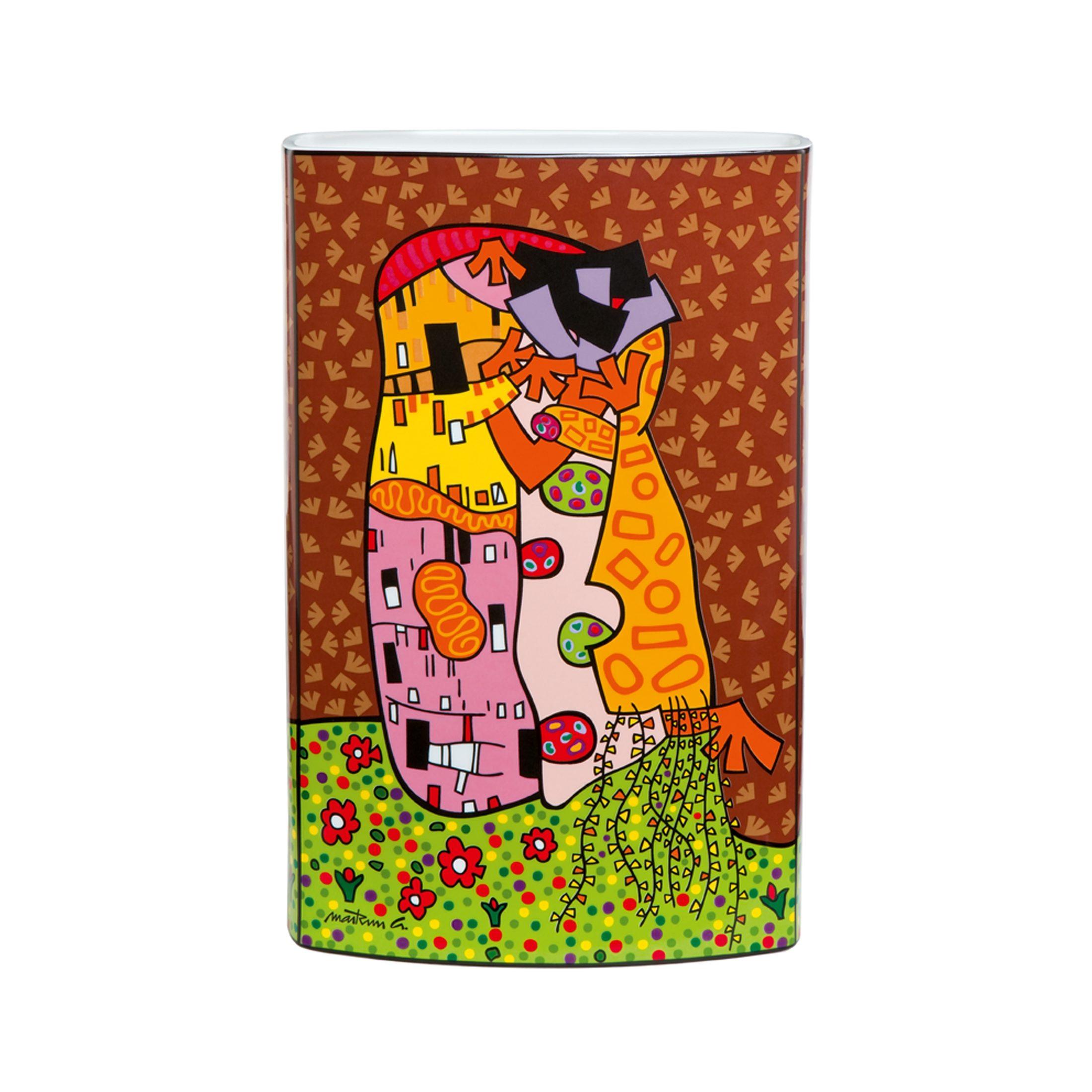 Goebel Hugs and Kisses Vase »Artis Orbis«