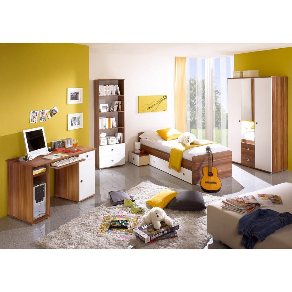 ticaa jugendzimmer vicky 4 tlg kleiderschrank. Black Bedroom Furniture Sets. Home Design Ideas