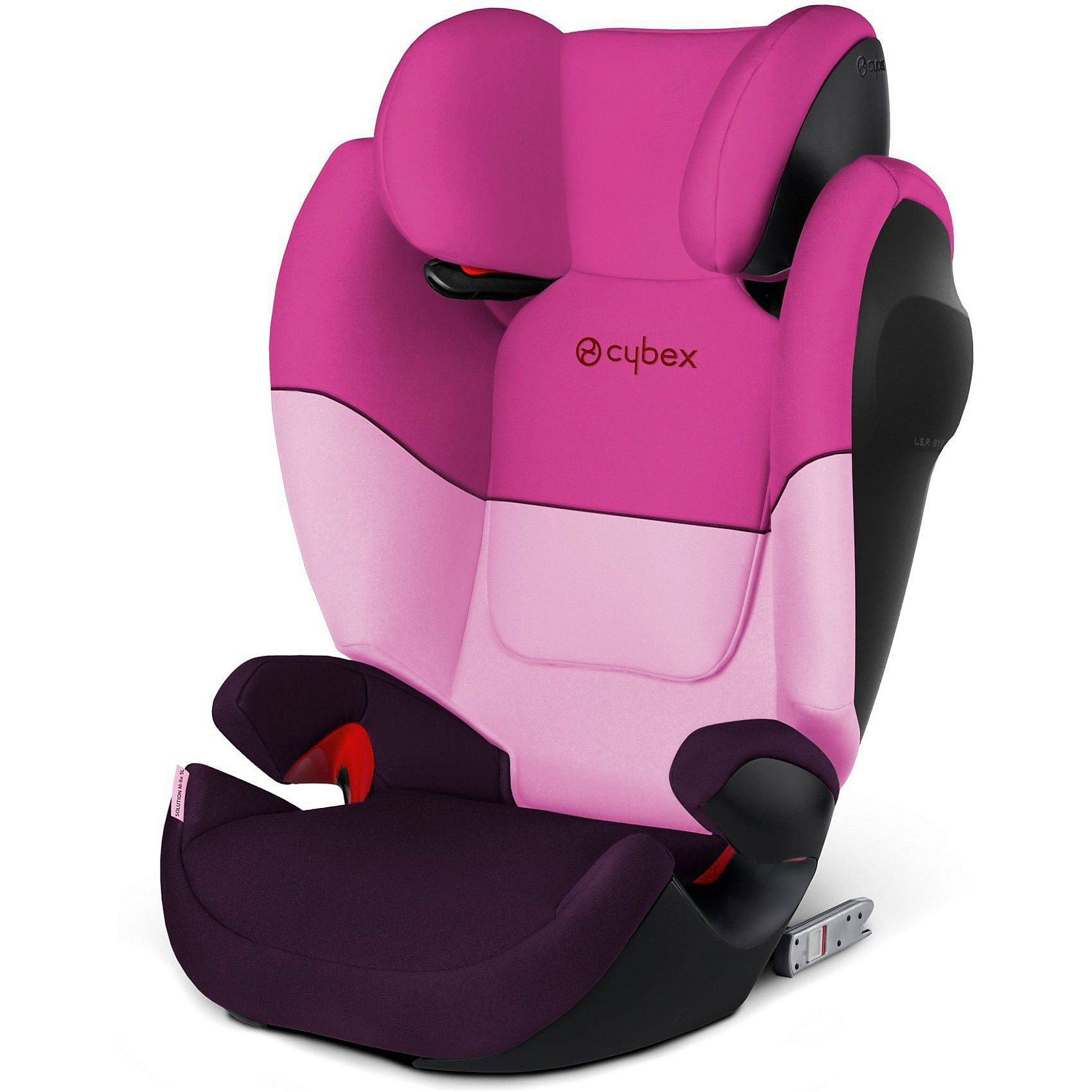 Cybex Auto-Kindersitz Solution X-Fix, Silver-Line, Purple Rain, 20