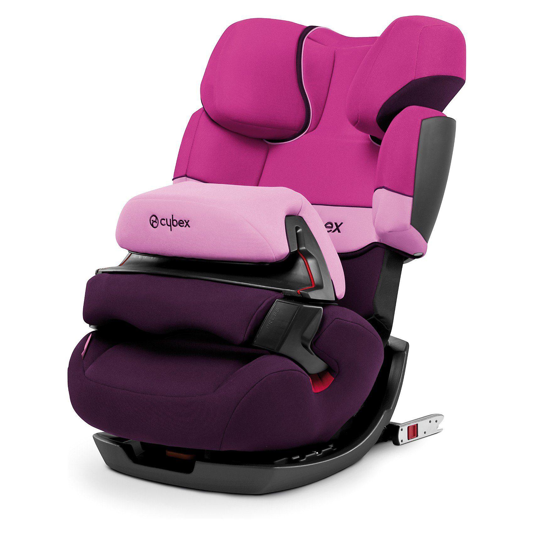 Cybex Auto-Kindersitz Pallas-Fix, Silver-Line, Purple Rain, 2017