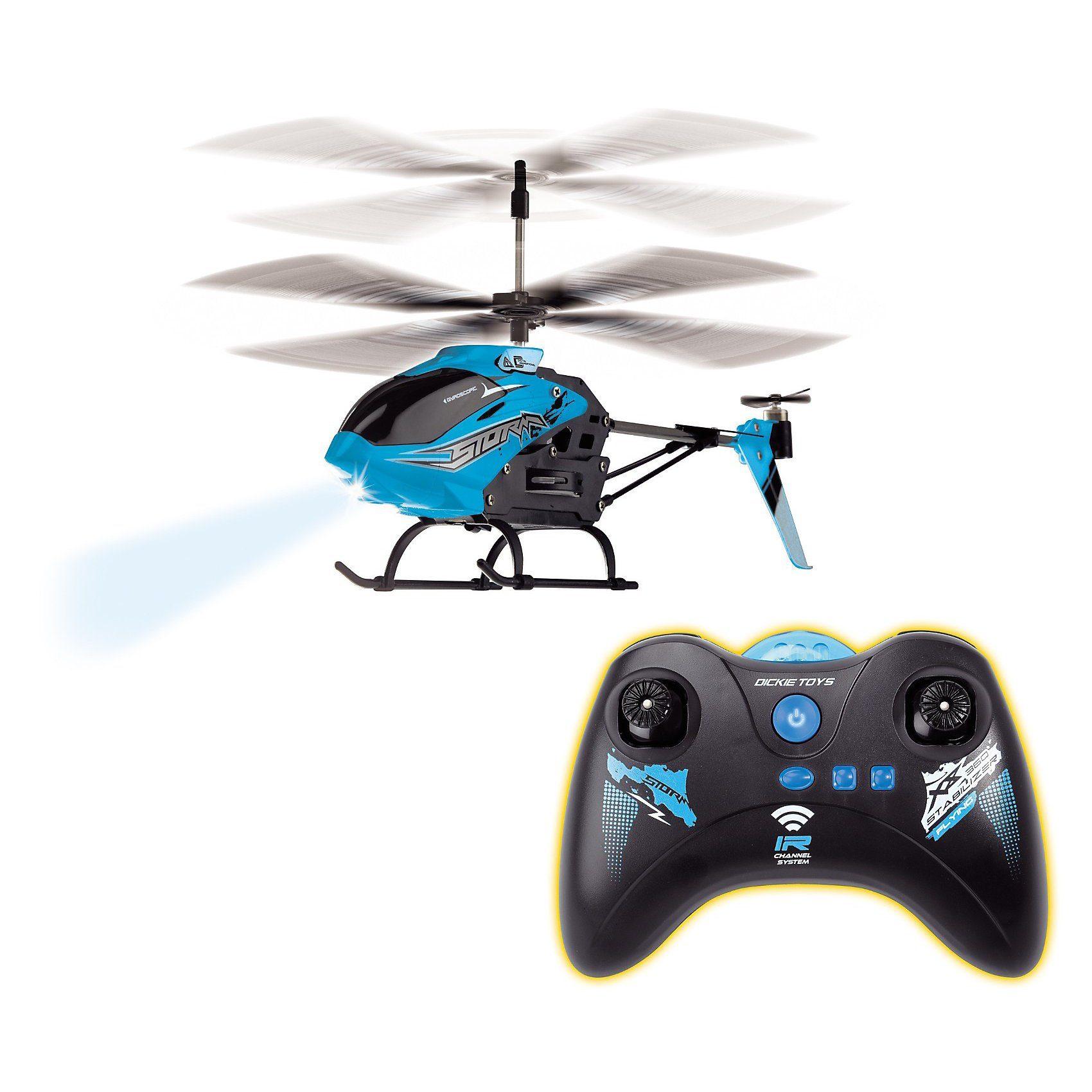 Dickie Toys IRC Helikopter Storm Chaser 3 Kanal Gyro