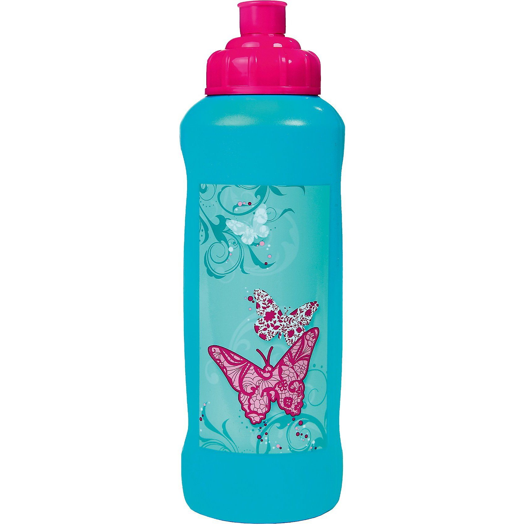 SCOOLI Trinkflasche Butterfly, 450 ml
