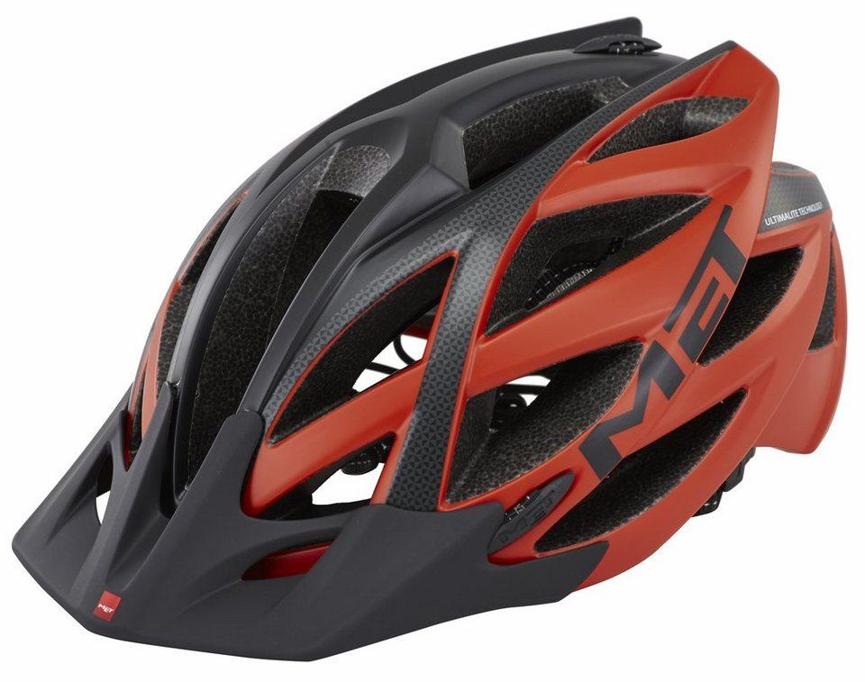 MET Fahrradhelm »Kaos Ultimalite Helm« in rot