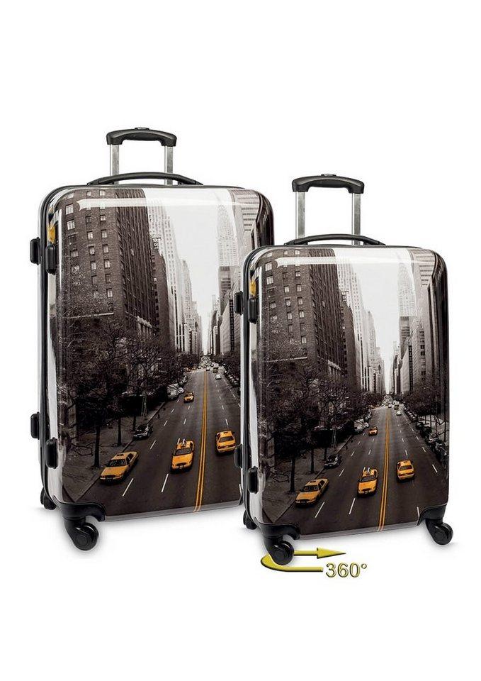 fabrizio trolley set mit 4 rollen streets 2tlg. Black Bedroom Furniture Sets. Home Design Ideas