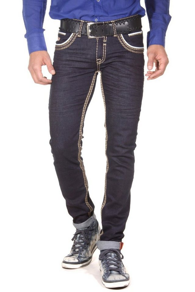Bright Jeans LIMITED EDITION Stretchjeans slim fit in blau