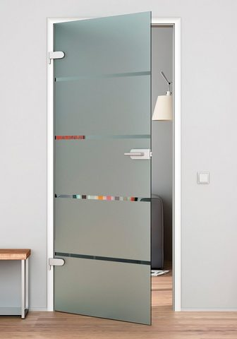 GLASTÜRKONTOR HAMBURG Stiklinės vidaus durys »4 Streifen« in...