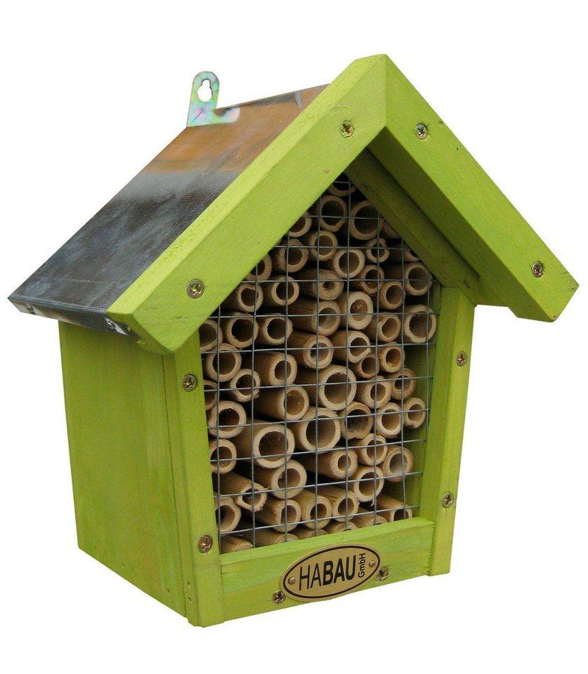 Bienen-Insektenhotel in natur