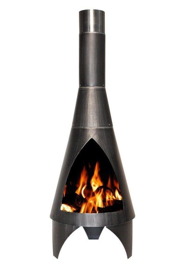 Feuerstelle »Colorado 105 cm« in silberfarben
