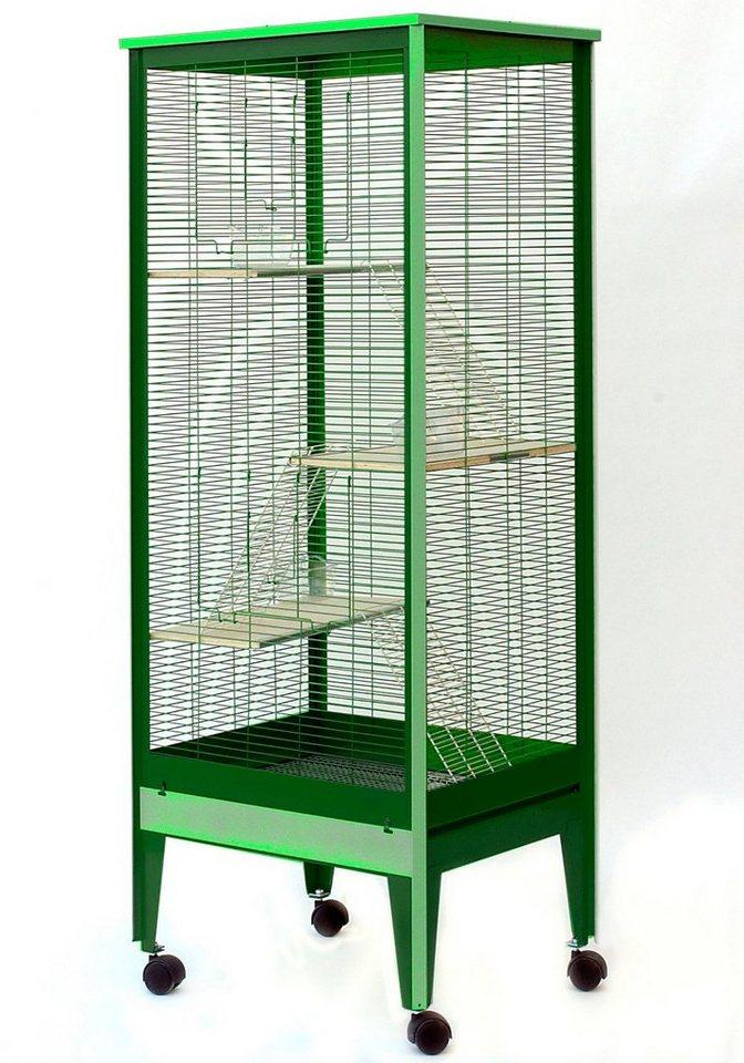 Nagerkäfig »Mailand« in grün