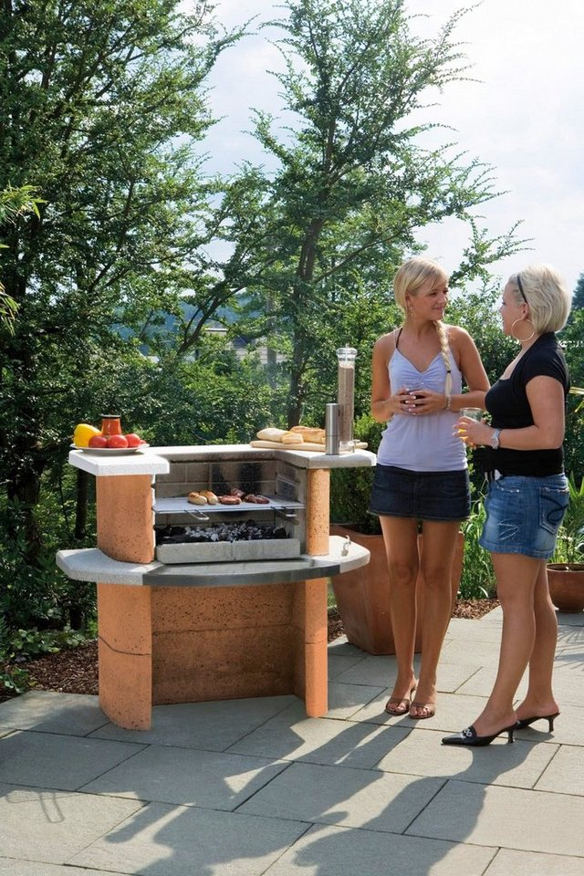 Grillbar »Rica« in rot