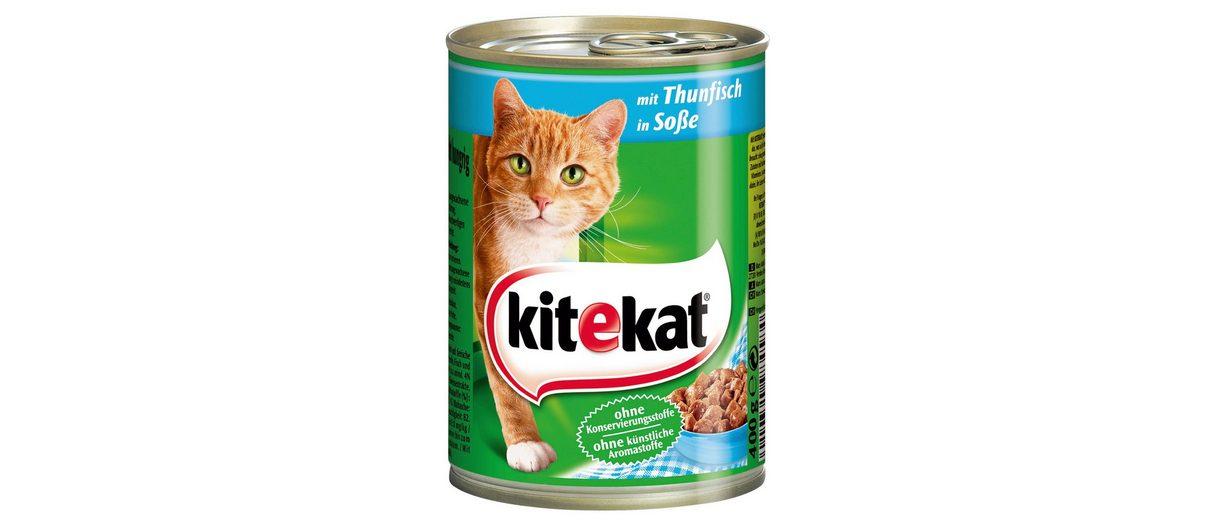 Set: Katzennassfutter »Thunfisch in Sauce«, 12 Dosen á 400 g