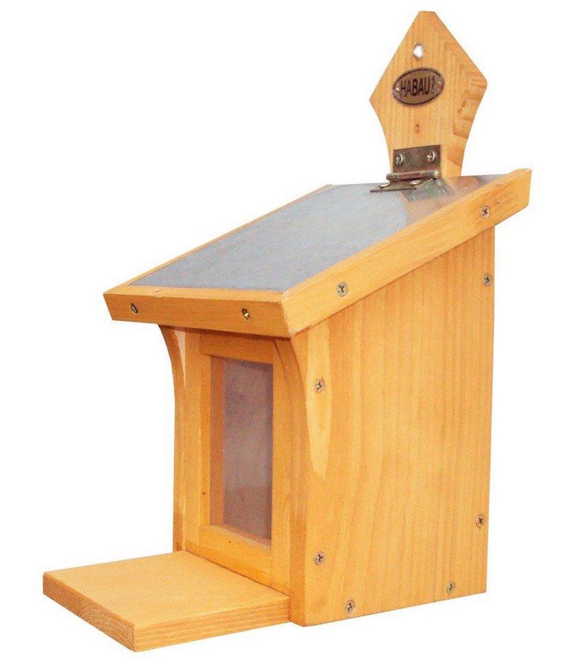 habau futterhaus eichh rnchen b t h 16 19 5 28 5 cm online kaufen otto. Black Bedroom Furniture Sets. Home Design Ideas