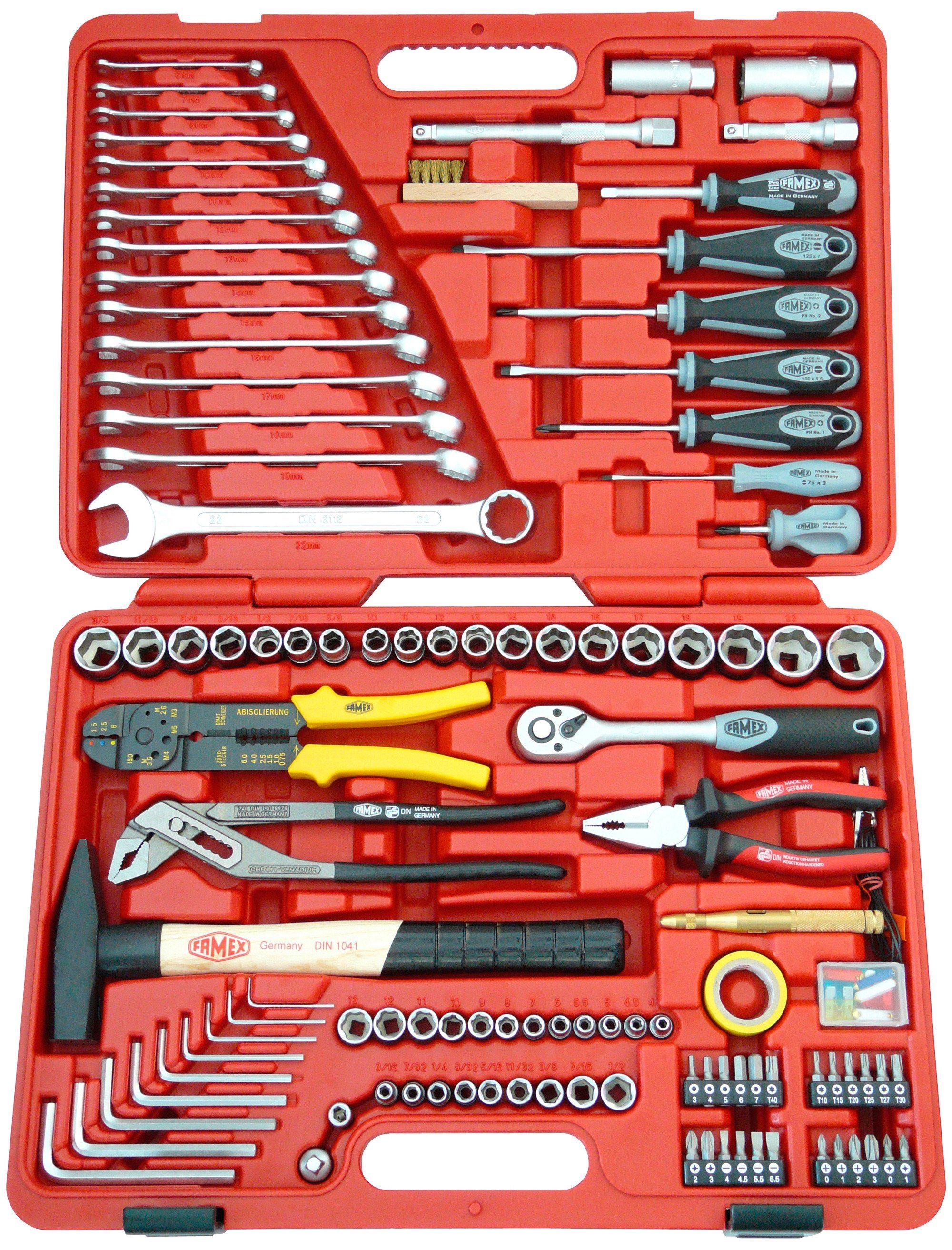 Universal-Werkzeugkoffer »FAMEX 136-20«