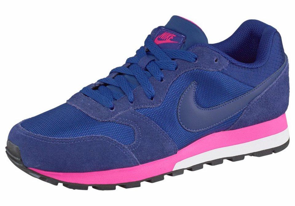 Nike Sportswear Sneaker »MD Runner 2 Wmns« in blau-rosa