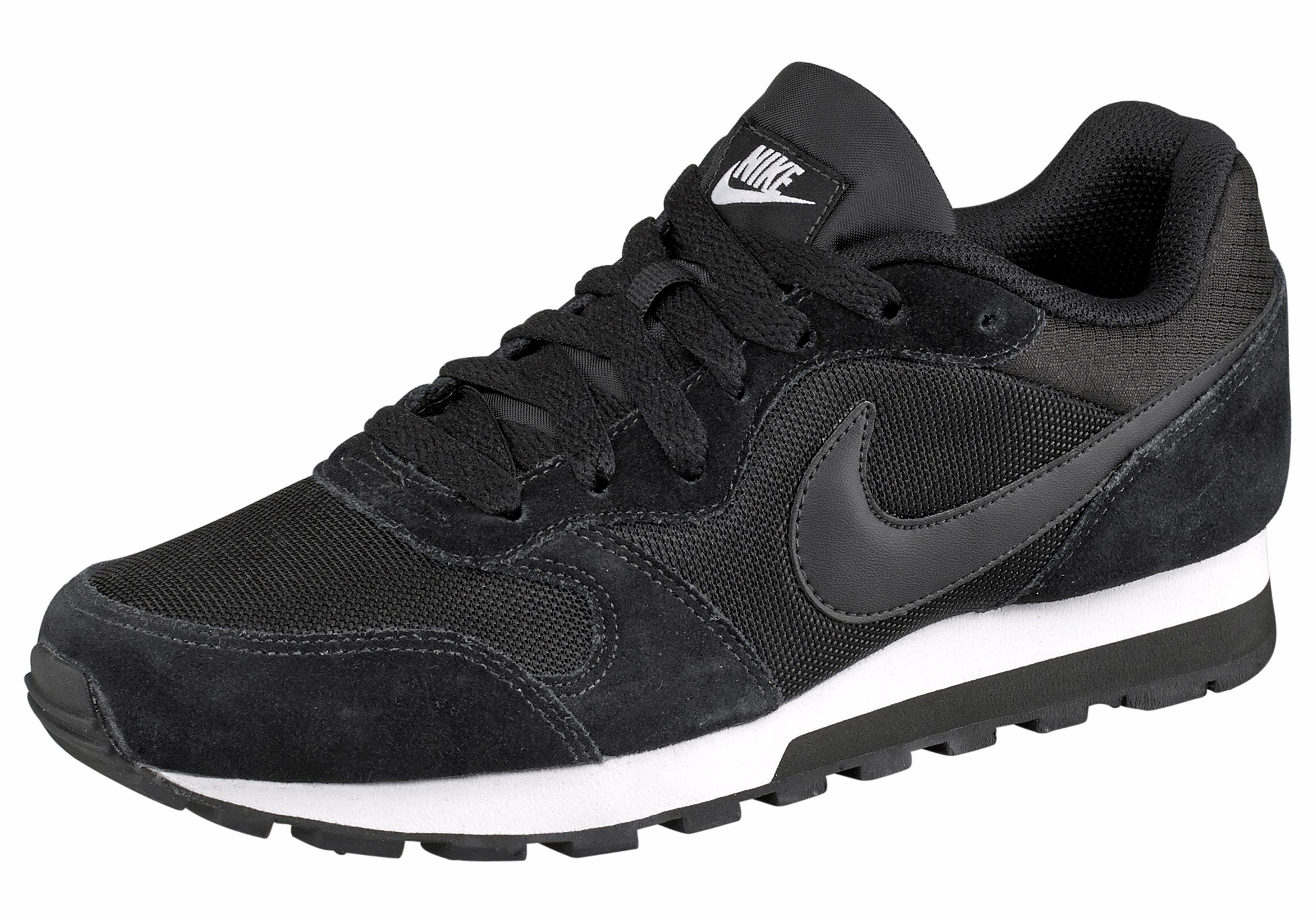 Nike Sportswear »MD Runner 2 Wmns« Sneaker, Atmungsaktives Obermaterial aus  Leder und Textil online kaufen | OTTO