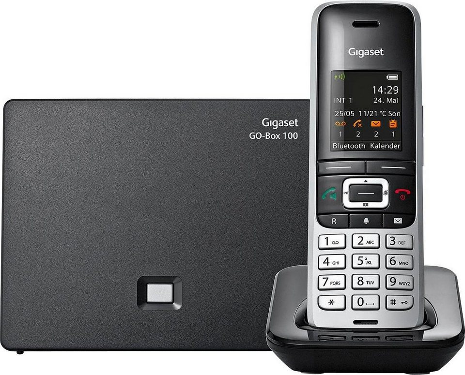 gigaset s850 a go schnurloses dect telefon mobilteile. Black Bedroom Furniture Sets. Home Design Ideas