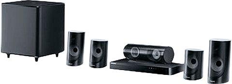 Samsung HT-J5500/EN 5.1 Heimkinosystem (3D Blu-ray Player, Multiroom, 1.000 W, WLAN, Bluetooth)