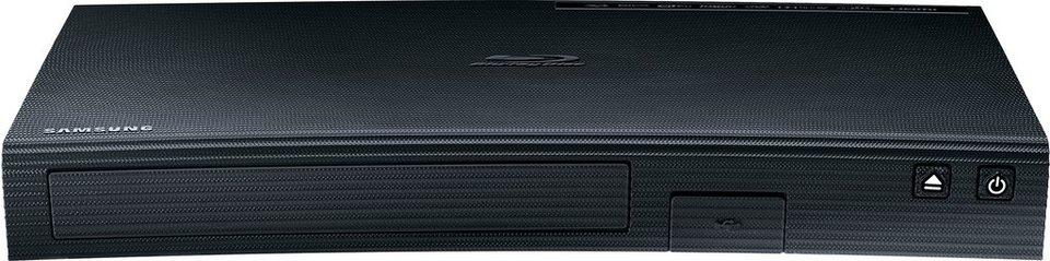 Samsung BD-J5900 3D Blu-ray-Player 3D-fähig WLAN in schwarz