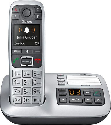 gigaset e550 a schnurloses dect telefon mit ab otto. Black Bedroom Furniture Sets. Home Design Ideas