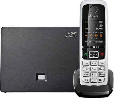 Gigaset »C430 A« Schnurloses DECT-Telefon (Mobilteile: 1, Anrufbeantworter, Weckfunktion, Wahlwiederholung)