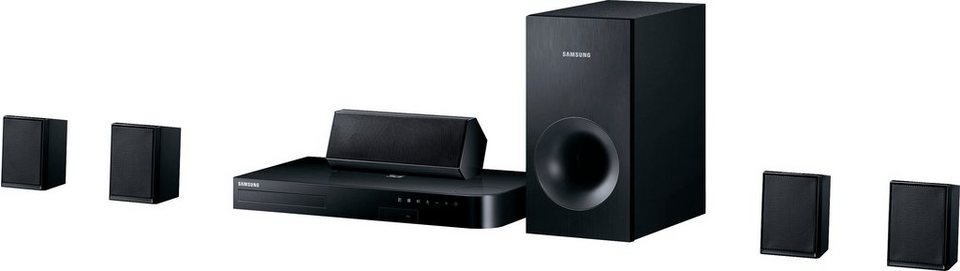 Samsung HT-J4500/EN 5.1 Heimkinosystem (3D Blu-ray Player, 500 W, Bluetooth) in schwarz