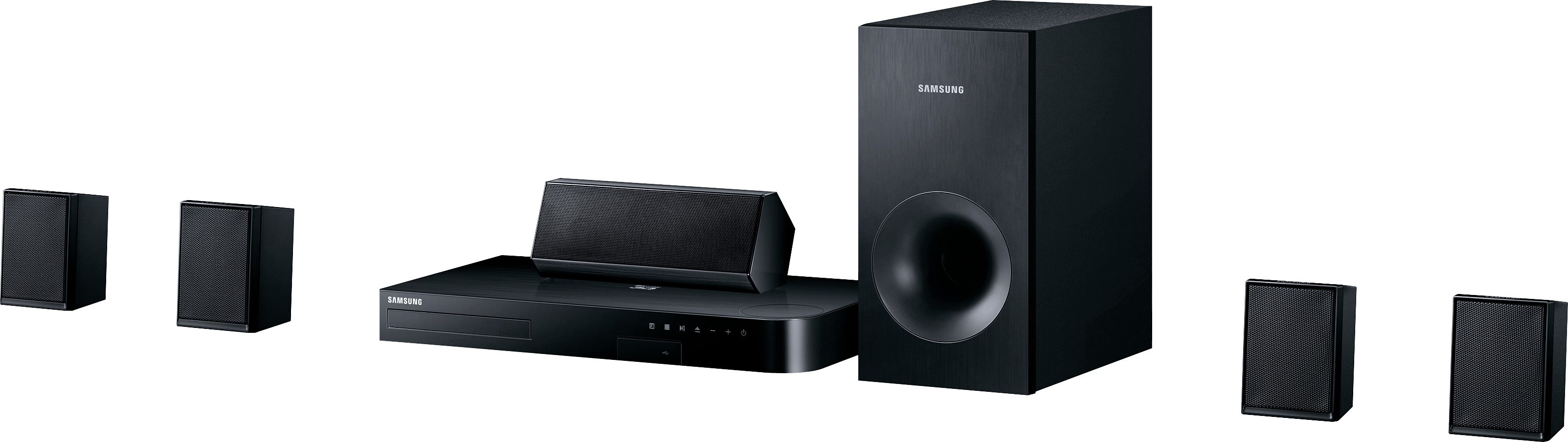 Samsung HT-J4500/EN 5.1 Heimkinosystem (3D Blu-ray Player, 500 W, Bluetooth)