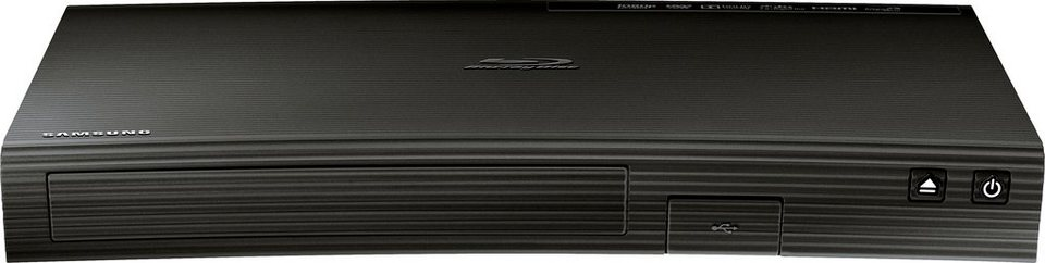 Samsung BD-J5500 3D Blu-ray-Player 3D-fähig in schwarz