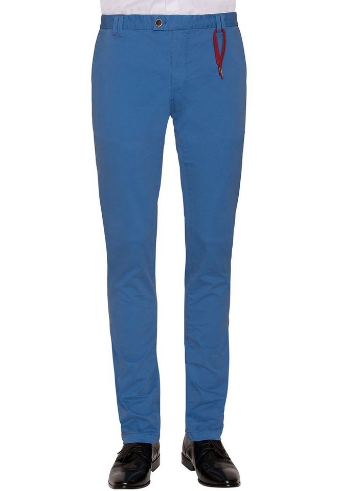 CG - Club of Gents Chino »CG Felix« in blau